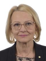 Statsrådet Heléne Fritzon