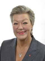Arbetsmarknads- och etableringsminister Ylva Johansson