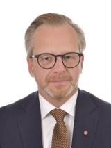 Statsrådet Mikael Damberg