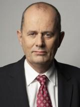 Statsrådet Peter Norman (M)