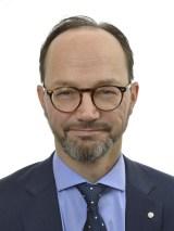 Statsrådet Tomas Eneroth