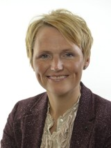 Statsrådet Anna-Karin Hatt (C)