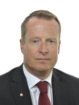 Statsrådet Anders Ygeman (S)
