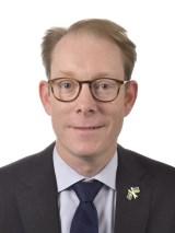 Statsrådet Tobias Billström (M)