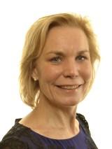 Statsrådet Gunilla Carlsson (M)
