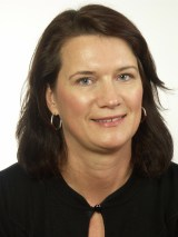 Statsrådet Ann Linde (S)