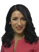 Amineh Kakabaveh(Lft)